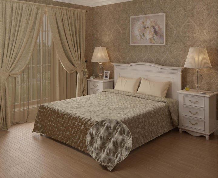Купить Шторы ARCODORO, Классические шторы Bambie Цвет: Кремовый, Россия, Портьерная ткань