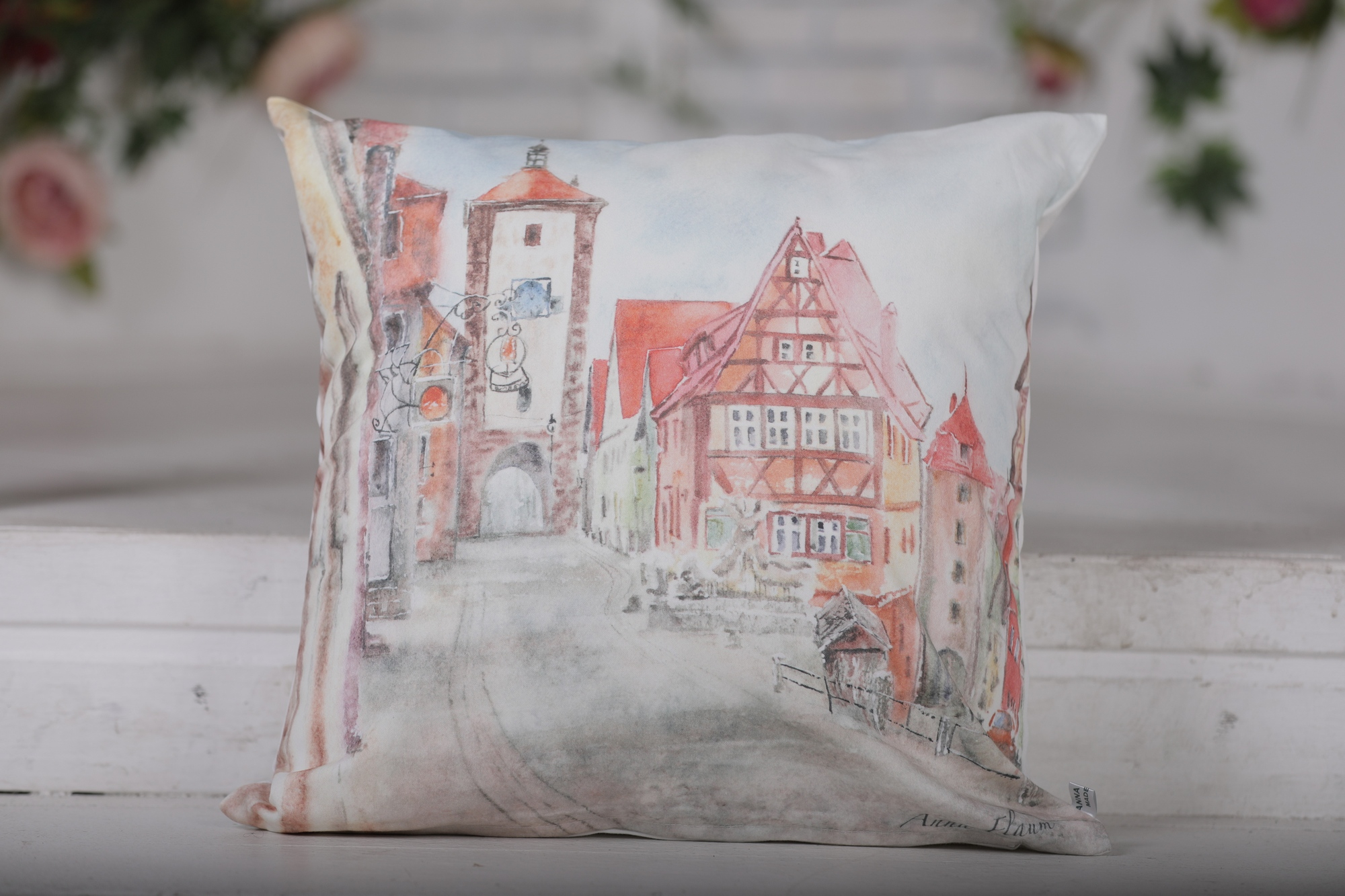 Декоративная подушка Old Europe-4 (45х45)