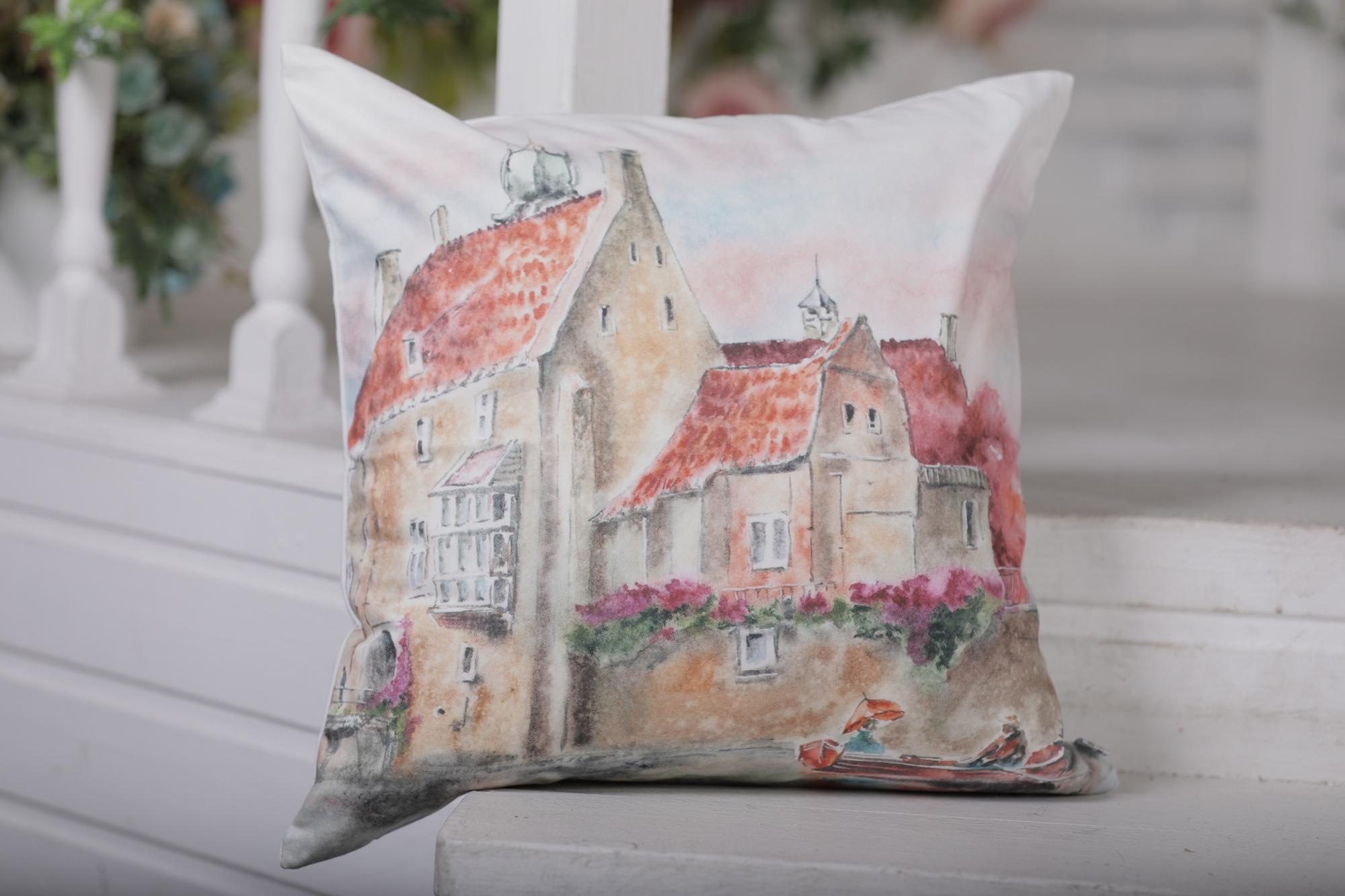 Декоративная подушка Old Europe-5 (45х45)