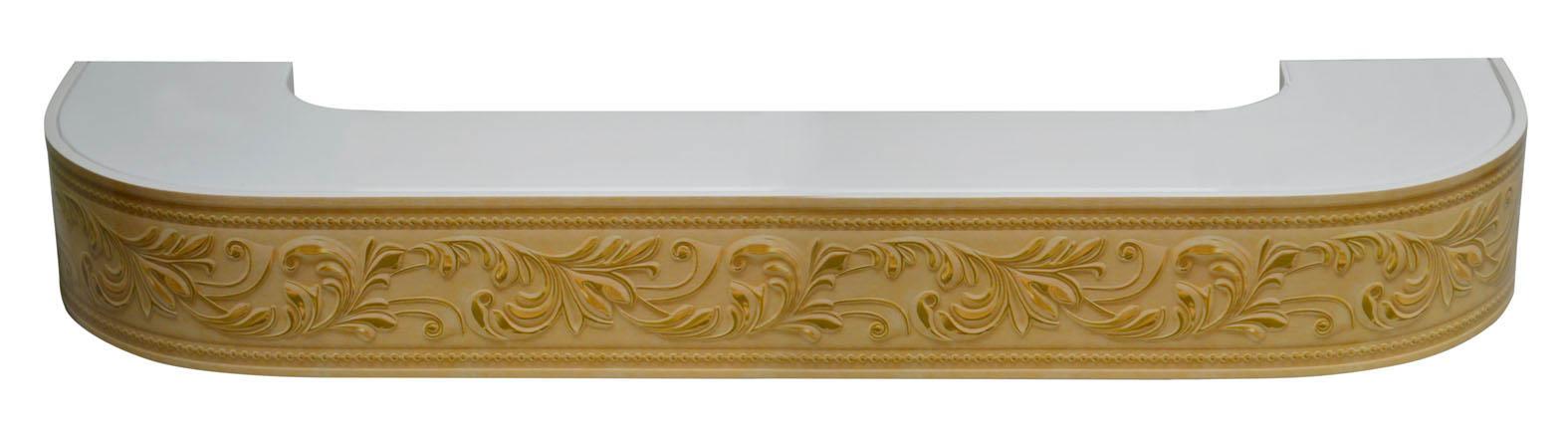 Карнизы и аксессуары для штор ARCODORO Карниз Овация Цвет: Бук (400 см)