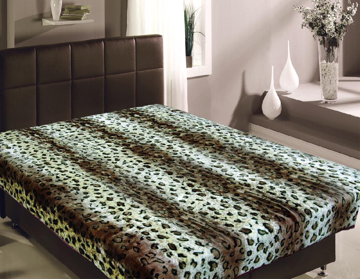 Пледы и покрывала TexRepublic Плед Шкура Леопарда (150х200 см) плед texrepublic плед конфеты 150х200 см