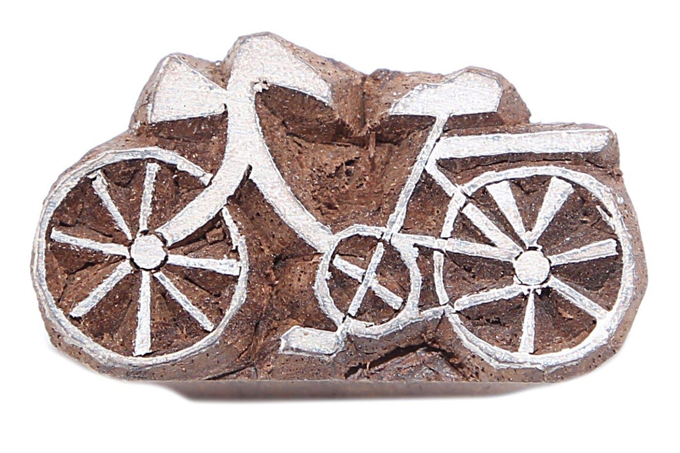 Штамп-печать Велосипед (2х2х3 см) фото