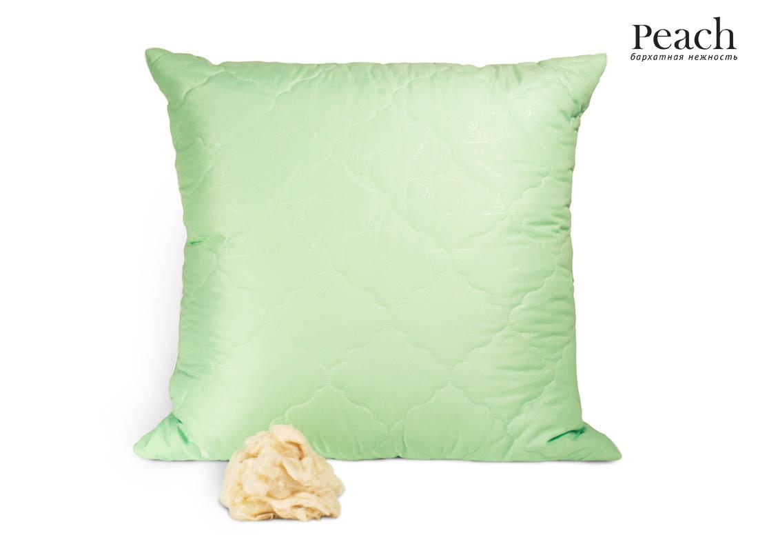 Купить Подушки Peach, Подушка Peach из Бамбукового Волокна Упругая (70х70), Великобритания, Микрофибра