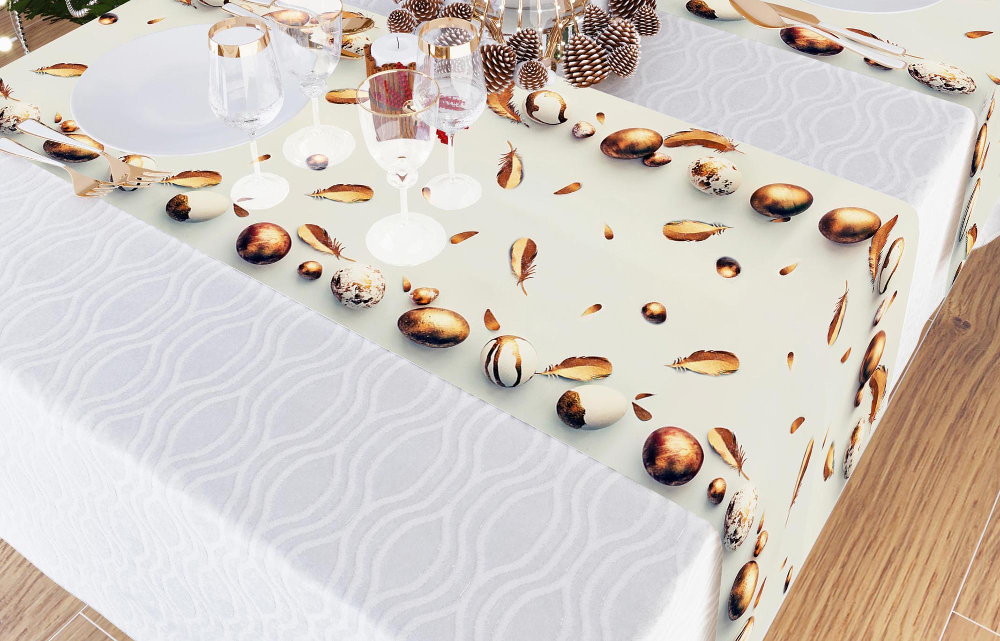 Дорожка на стол Счастливая Пасха (40х140 см)