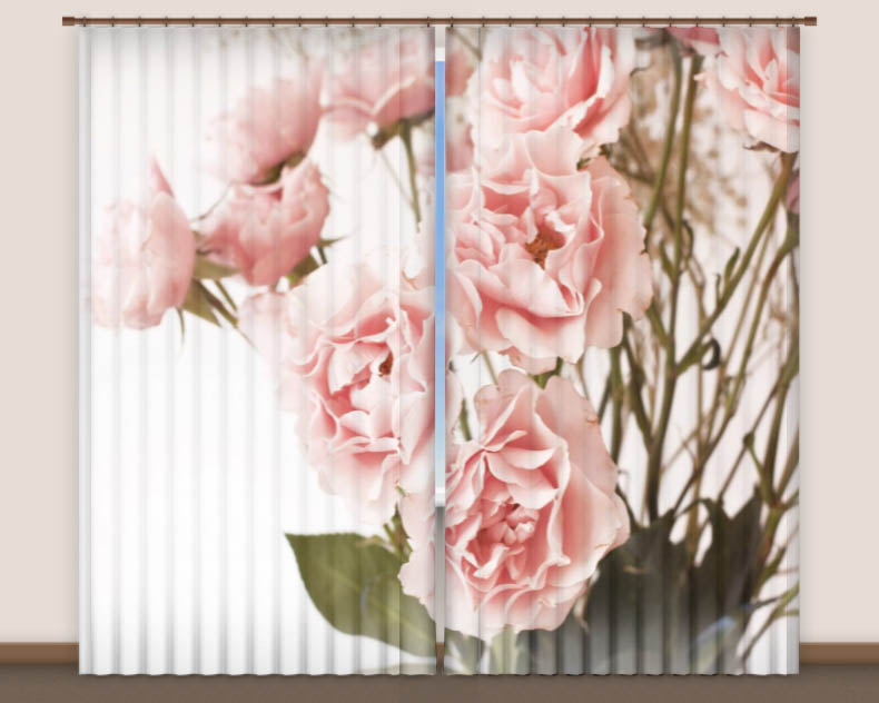 Купить Шторы Elegante, Фотошторы White, Китай, Вуаль