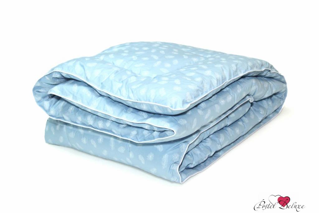 Купить Одеяла Пиллоу, Одеяло Лебяжий Пух(200х220 см), Россия, Голубой, Хлопковый тик