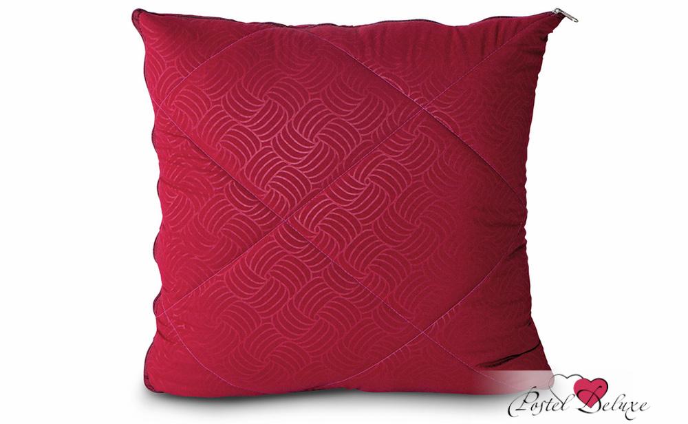 Пледы и покрывала OL-Tex Плед-подушка-палантин Ol-tex Цвет однотонный: Бордовый (135х200 см) fine tex