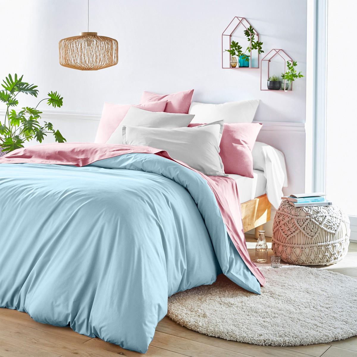 Купить Комплекты постельного белья Dome, Пододеяльник Aerlight Цвет: Голубой (200х215 см), Дания, Хлопковый сатин