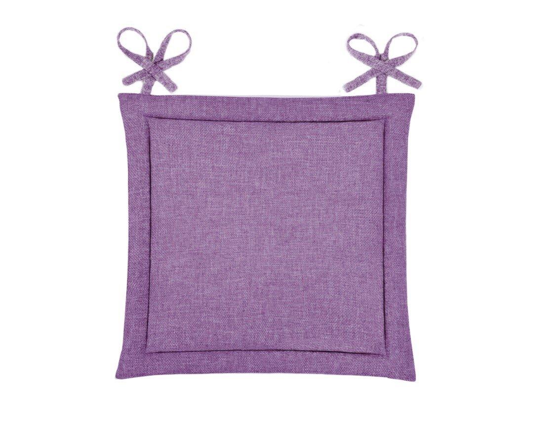 Подушка на стул Kentukki Цвет: Фиалковый (40х40)