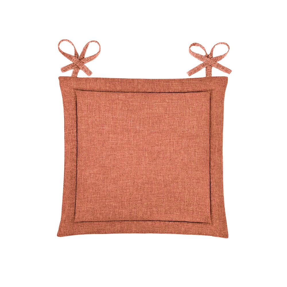 Подушка на стул Kentukki Цвет: Коралловый (40х40)