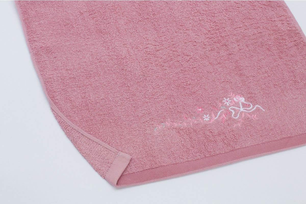 Купить Полотенца Любимый дом, Полотенце Мелисса Цвет: Дымчато-Розовый (50х90 см), Россия, Махра
