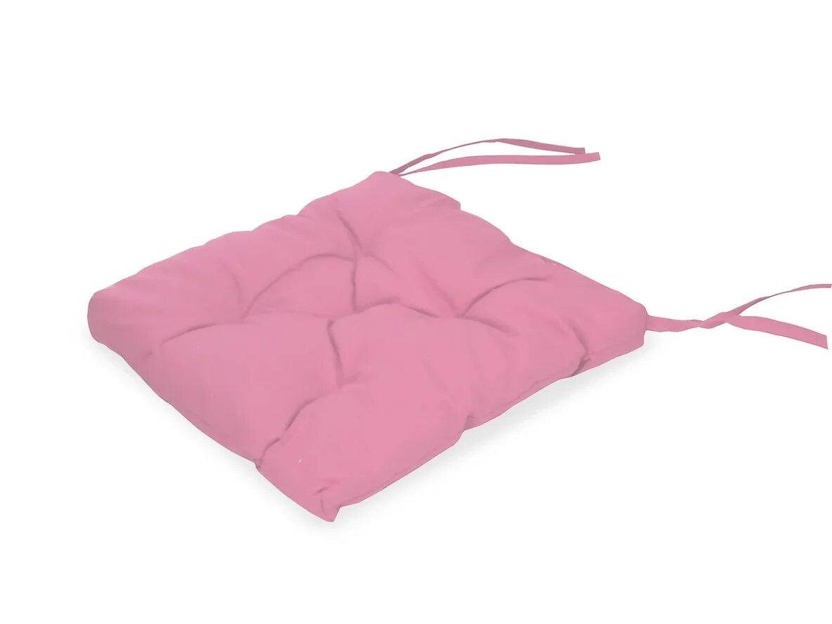 Подушка на стул Rozi Цвет: Розовый (35х35 см (2 шт))
