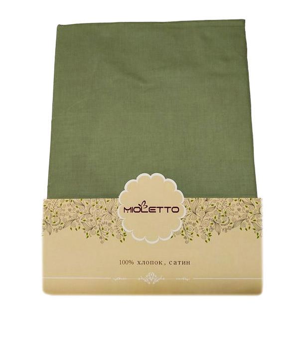 Купить Простыни Mioletto, Простыня на резинке Granada Цвет: Хаки (160х200), Китай, Хлопковый сатин