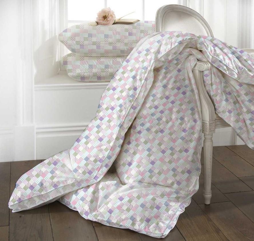 Купить Одеяла Mona Liza, Одеяло Jasmine Легкое (140х205 см), Россия, Мультиколор, Синтетический тик