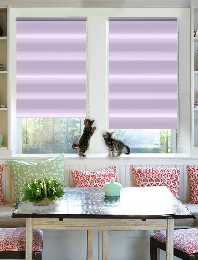 Рулонные шторы Aldford Цвет: Фиолетовый фото