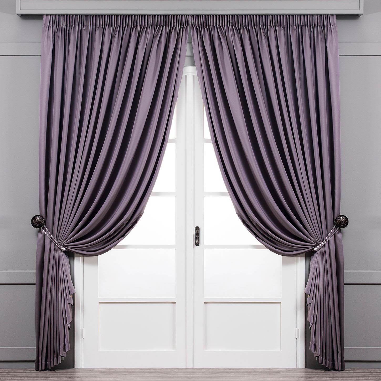 Купить Шторы Togas, Классические шторы Рапсодия Цвет: Фиолетовый, Греция, Портьерная ткань