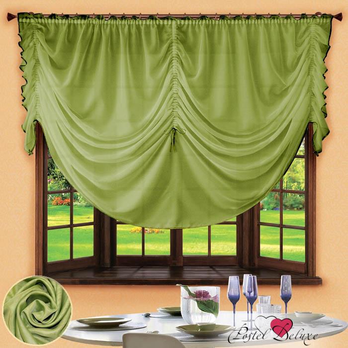 Шторы РеалТекс Французские шторы Corzano Цвет: Зеленый шторы реалтекс классические шторы alexandria цвет венге молочный венге