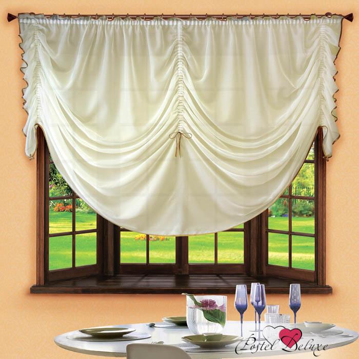 Шторы РеалТекс Французские шторы Corzano Цвет: Кремовый шторы реалтекс классические шторы alexandria цвет венге молочный венге