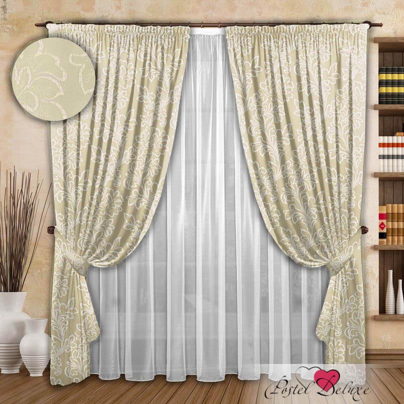 Шторы РеалТекс Классические шторы Fabolous Цвет: Молочный шторы реалтекс классические шторы alexandria цвет венге молочный венге