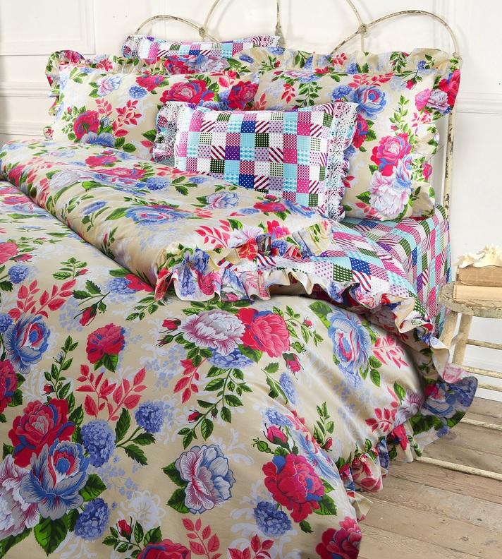 Комплекты постельного белья Mona Liza Постельное белье Rosa (2 сп. евро) rosa евро чёрный