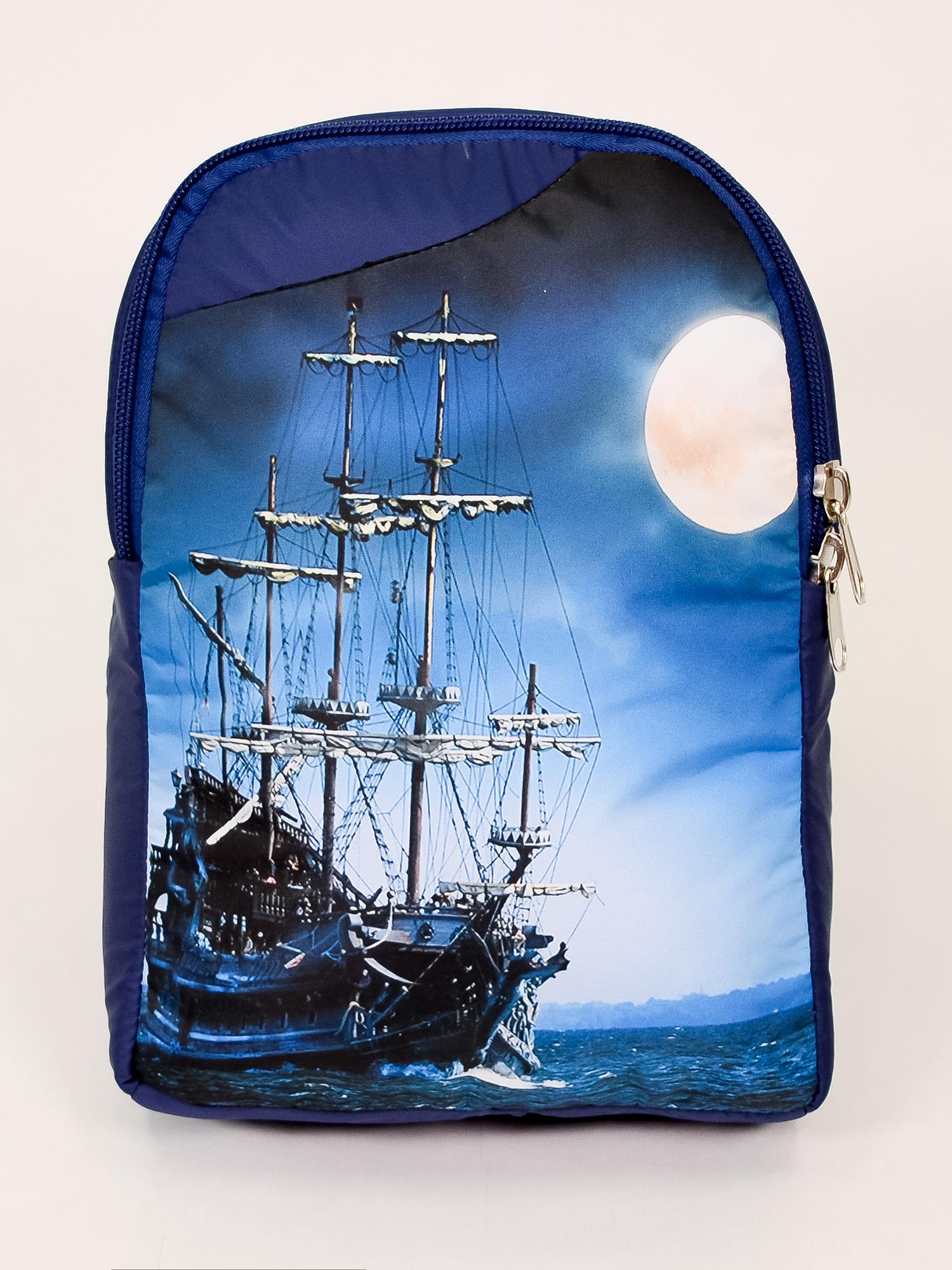 Детсткий рюкзак Фрегат в ночи (10х24х34 см) фото