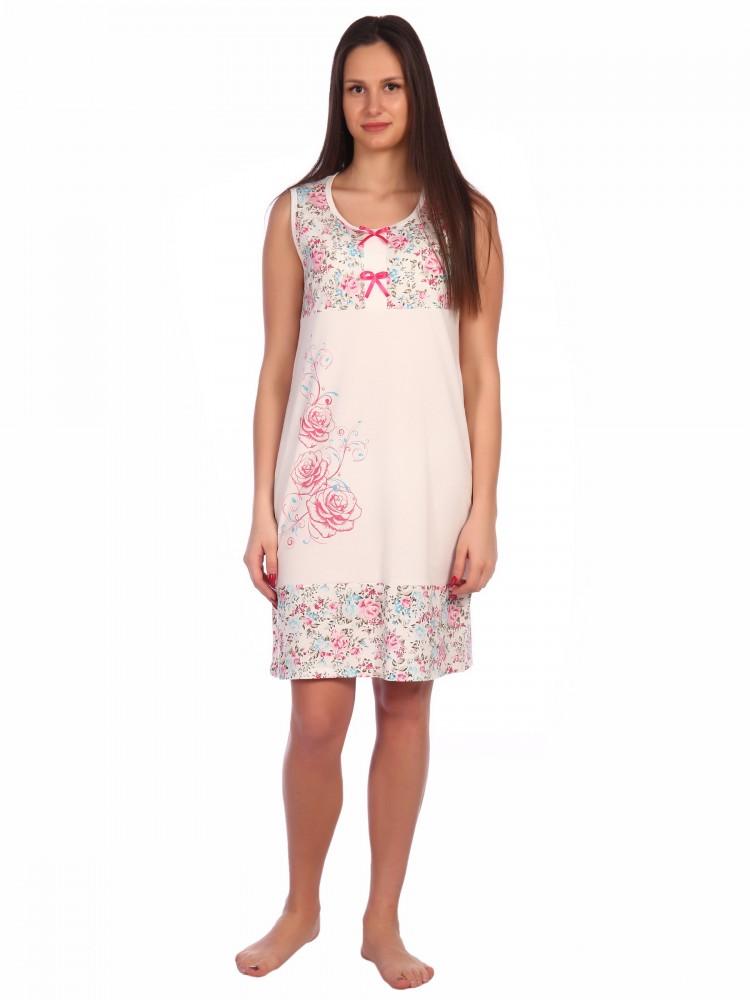 Ночная сорочка Shavonne Цвет: Розовый (52) фото
