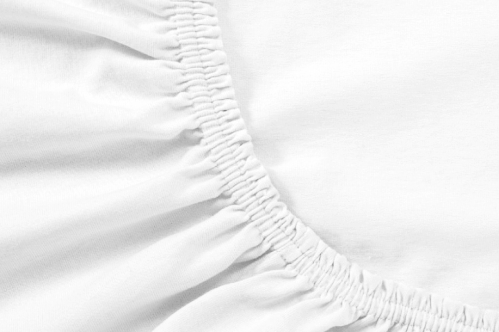 Простыня на резинке Cierra Цвет: Белый (180х200) фото