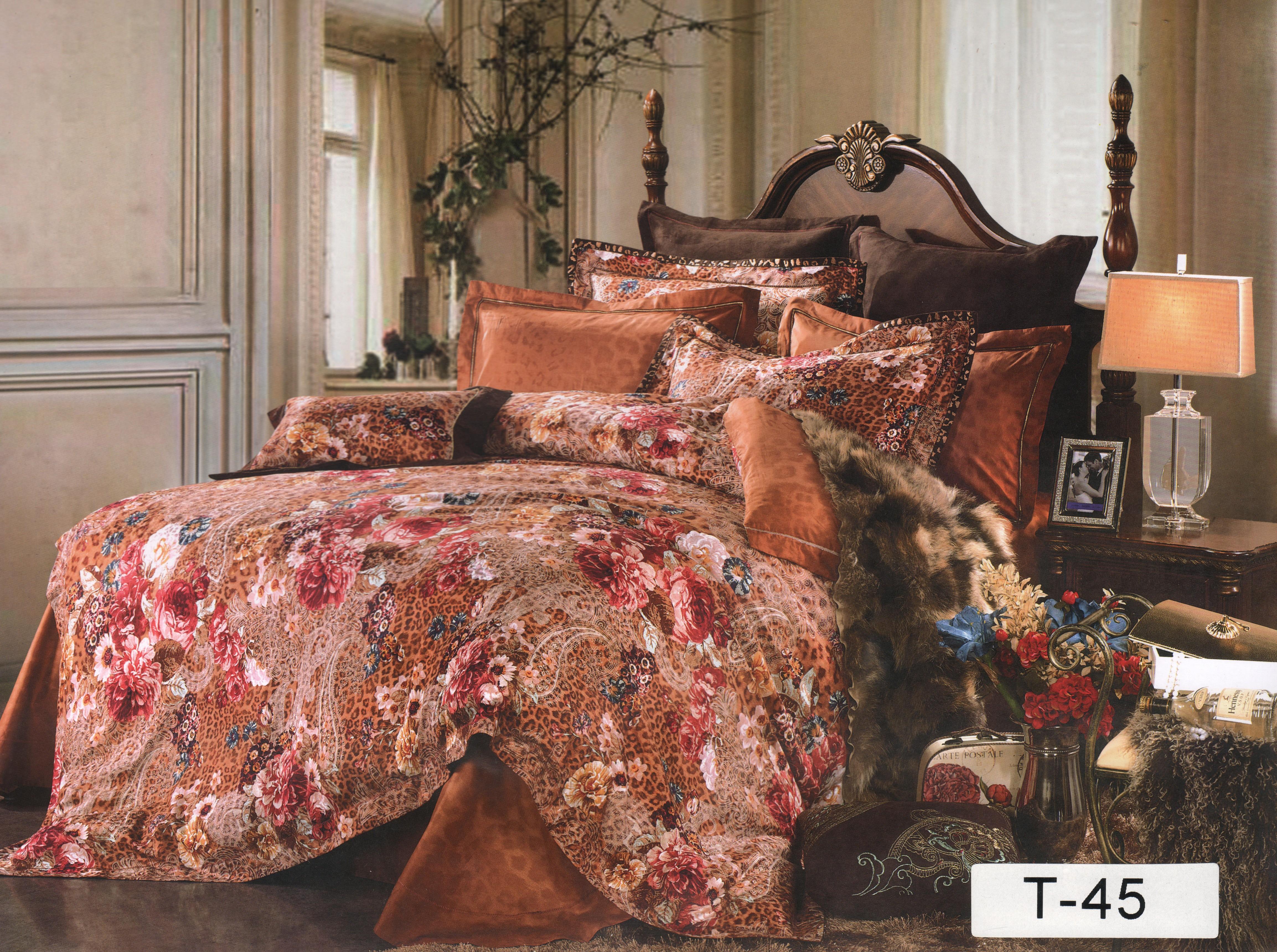 Купить Комплекты постельного белья СайлиД, Постельное белье Gideon (2 спал.), Китай, Кремовый, Хлопковый сатин