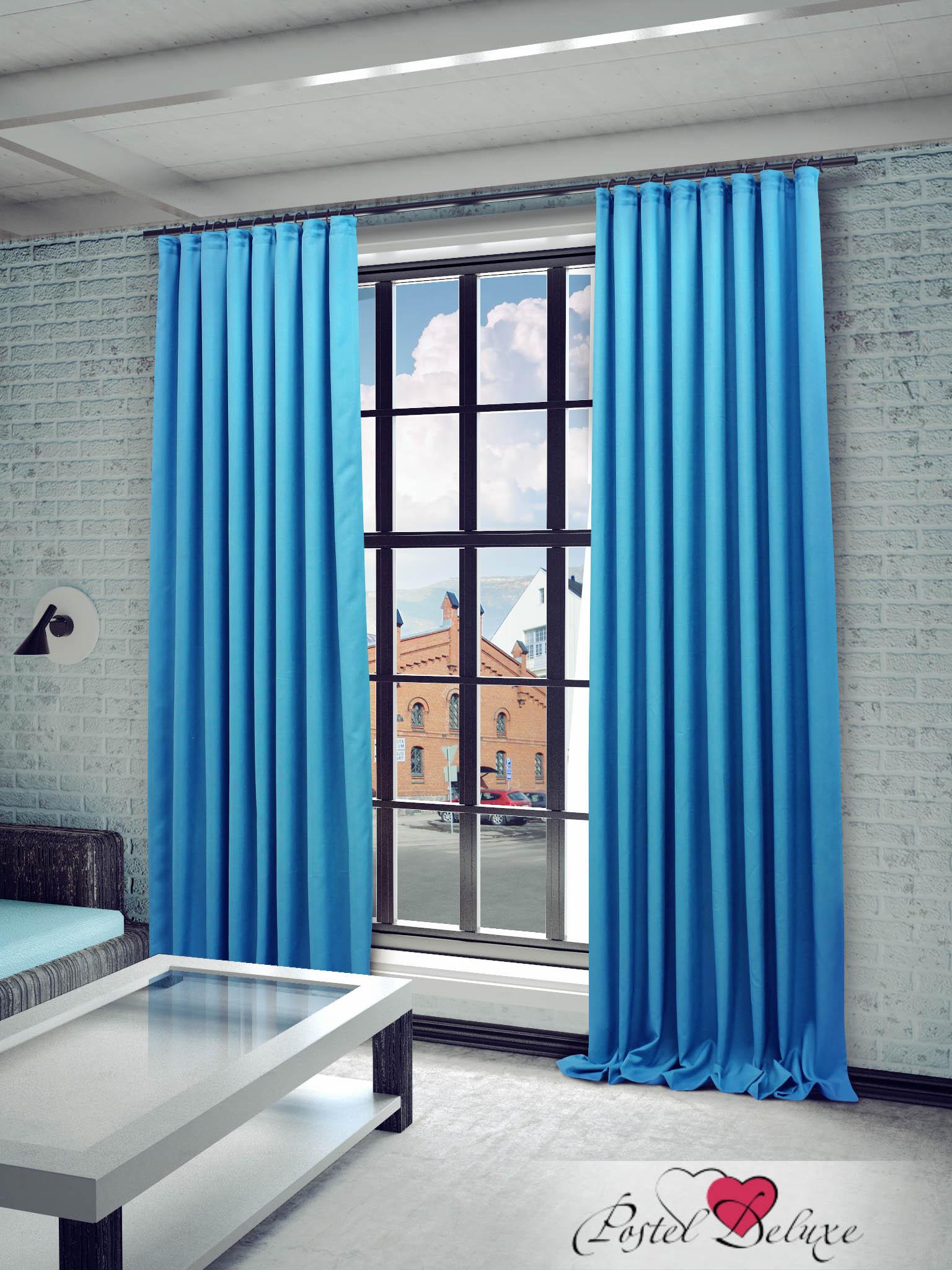 Купить Шторы Sanpa, Классические шторы Джоди Цвет: Бирюзовый, Россия, Голубой, Портьерная ткань