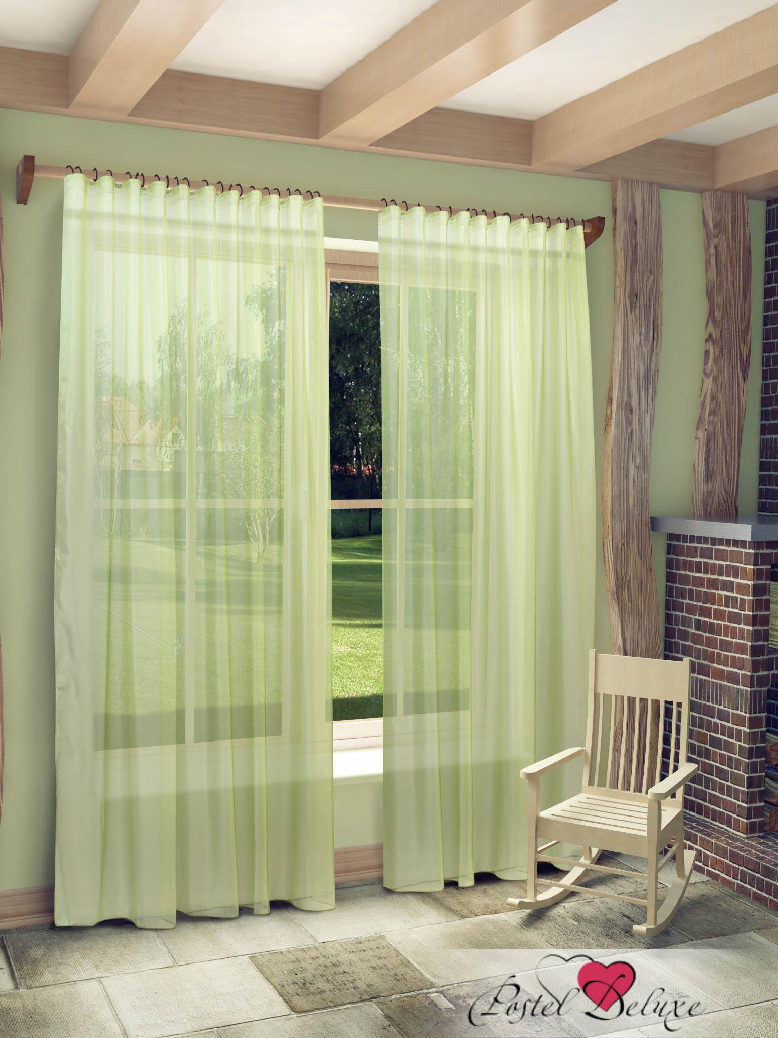 Купить Шторы Sanpa, Классические шторы Abram Цвет: Зеленый, Россия, Вуаль