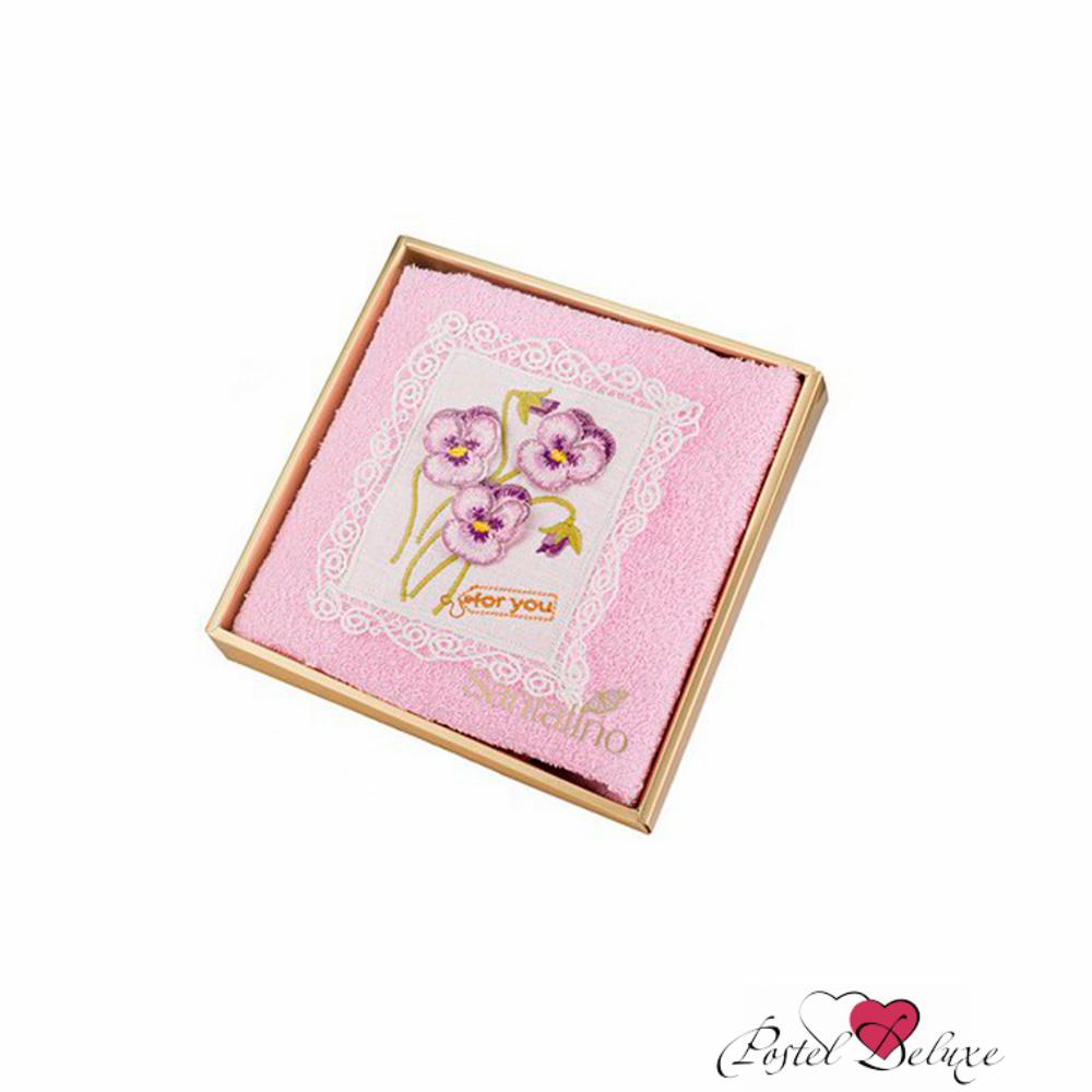 Купить Полотенца Santalino, Полотенце Полевые Цветы 3D Цвет: Розовый (50х90 см), Россия, Махра
