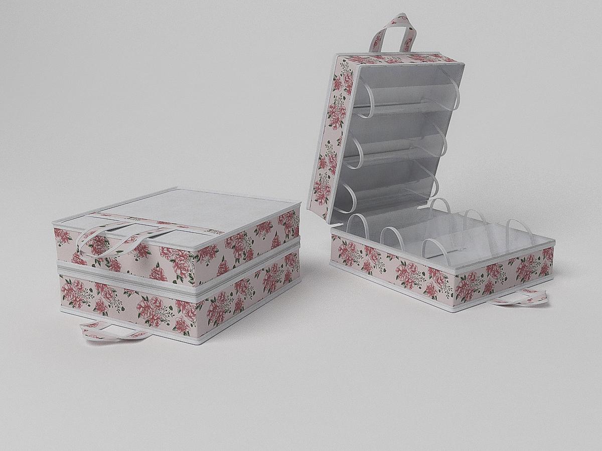 Органайзеры и кофры CoFreT Кофр для обуви Шебби Нью (20х35х40 см)