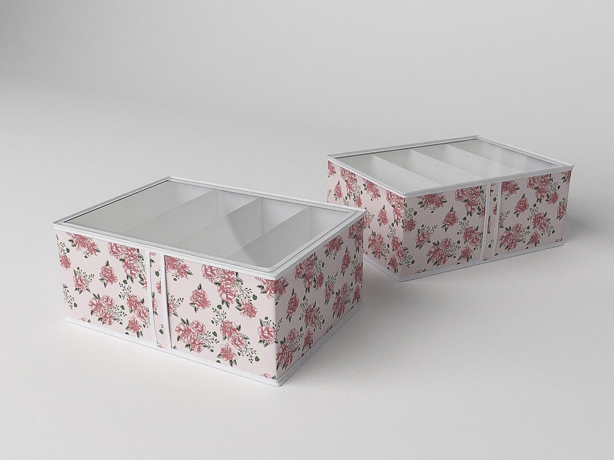 Органайзеры и кофры CoFreT Кофр для обуви Шебби Нью (20х34х48 см)