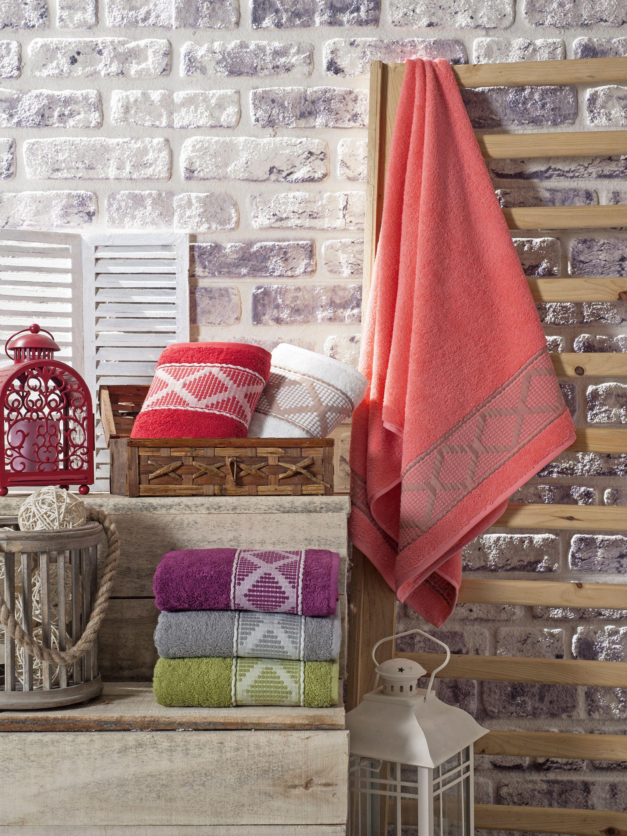 Купить Полотенца Pupilla, Полотенце Lotus (50х90 см), Турция, Бамбук