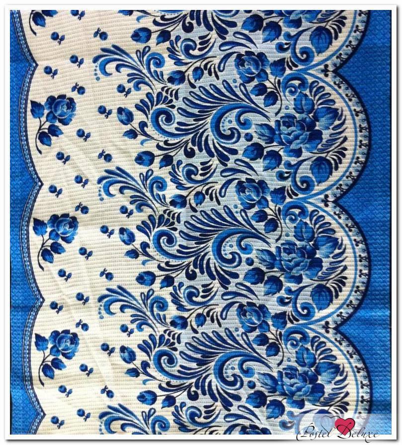 Полотенца Шуйские Ситцы Кухонное полотенце Гжель (50х60 см - 3 шт) полотенце кухонное красавчик 50х60