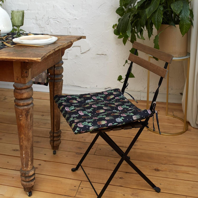 Подушка на стул Succulents (42х42)