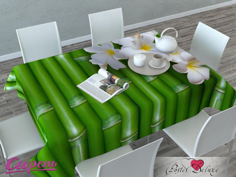 Скатерти и салфетки Сирень Скатерть Плюмерия И Бамбук (120х145 см) скатерти и салфетки сирень скатерть желтая орхидея 120х145 см