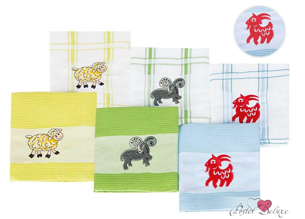 Полотенца Soavita Кухонное полотенце Символ года Цвет: Светло-Голубой(43х68 см)