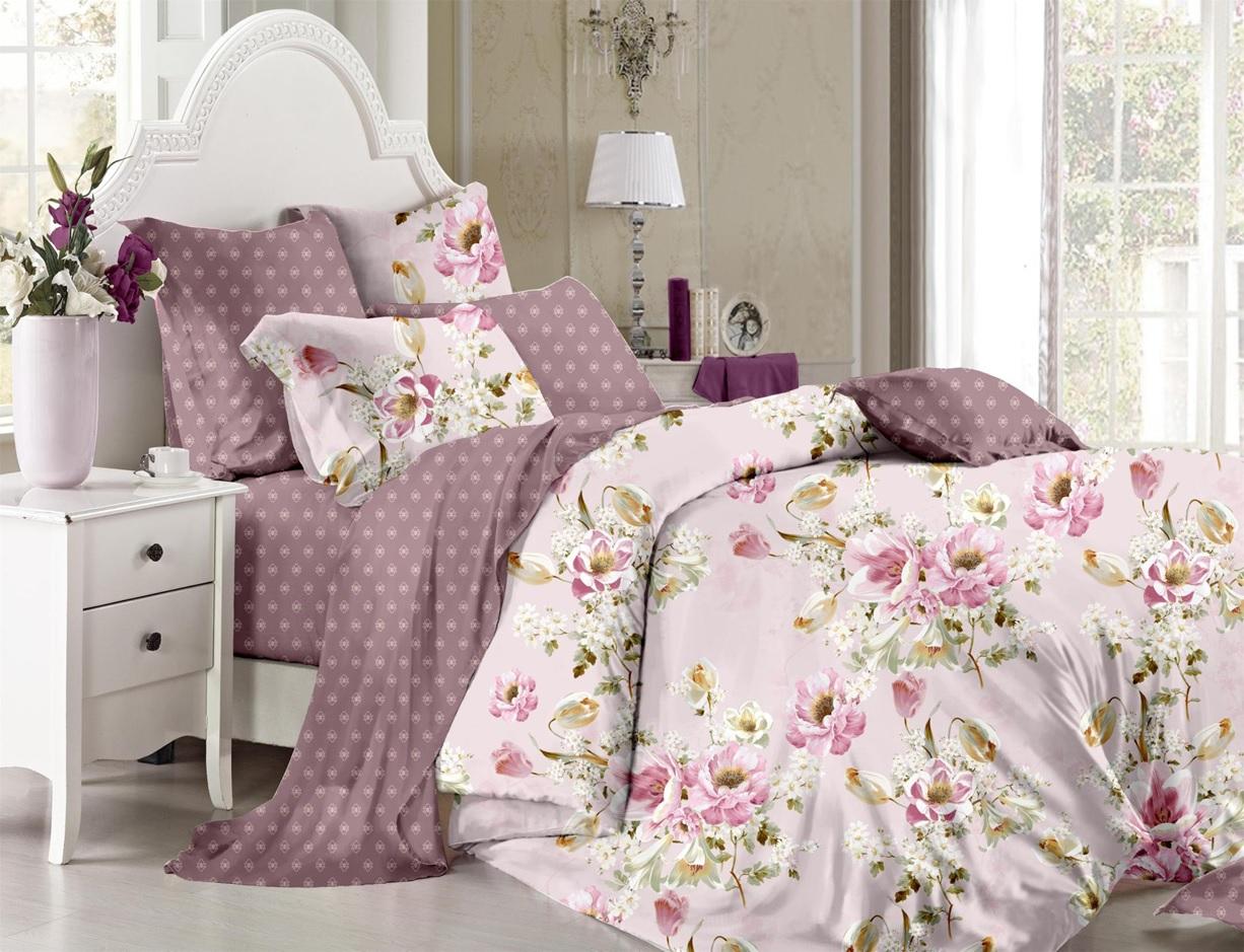 Купить Комплекты постельного белья SL, Постельное белье Mirabella (1, 5 спал.), Китай, Хлопковый сатин