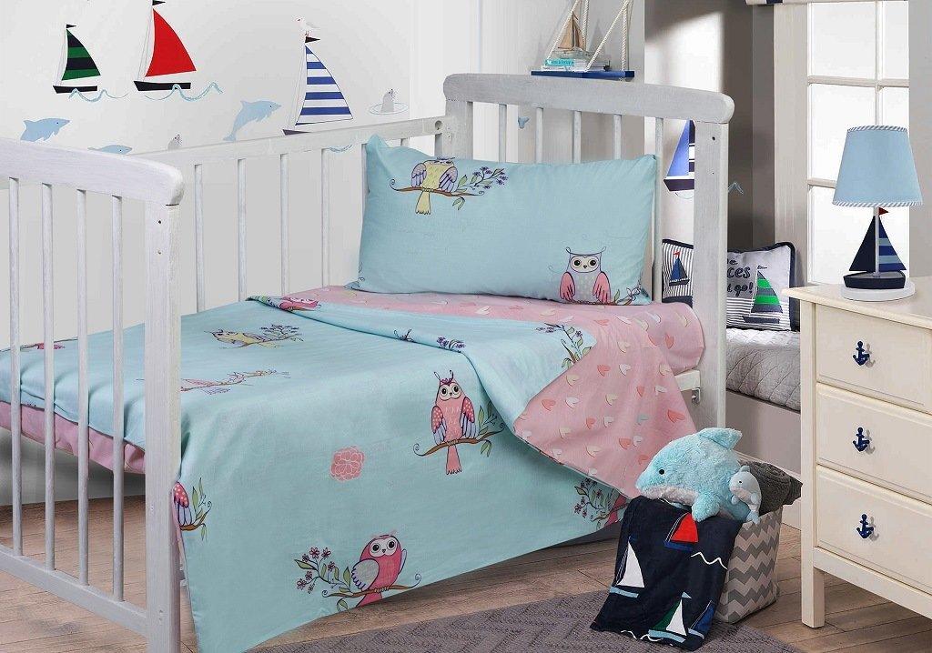 детское постельное белье Адель Детское Постельное белье Sovushka (110х140 см)