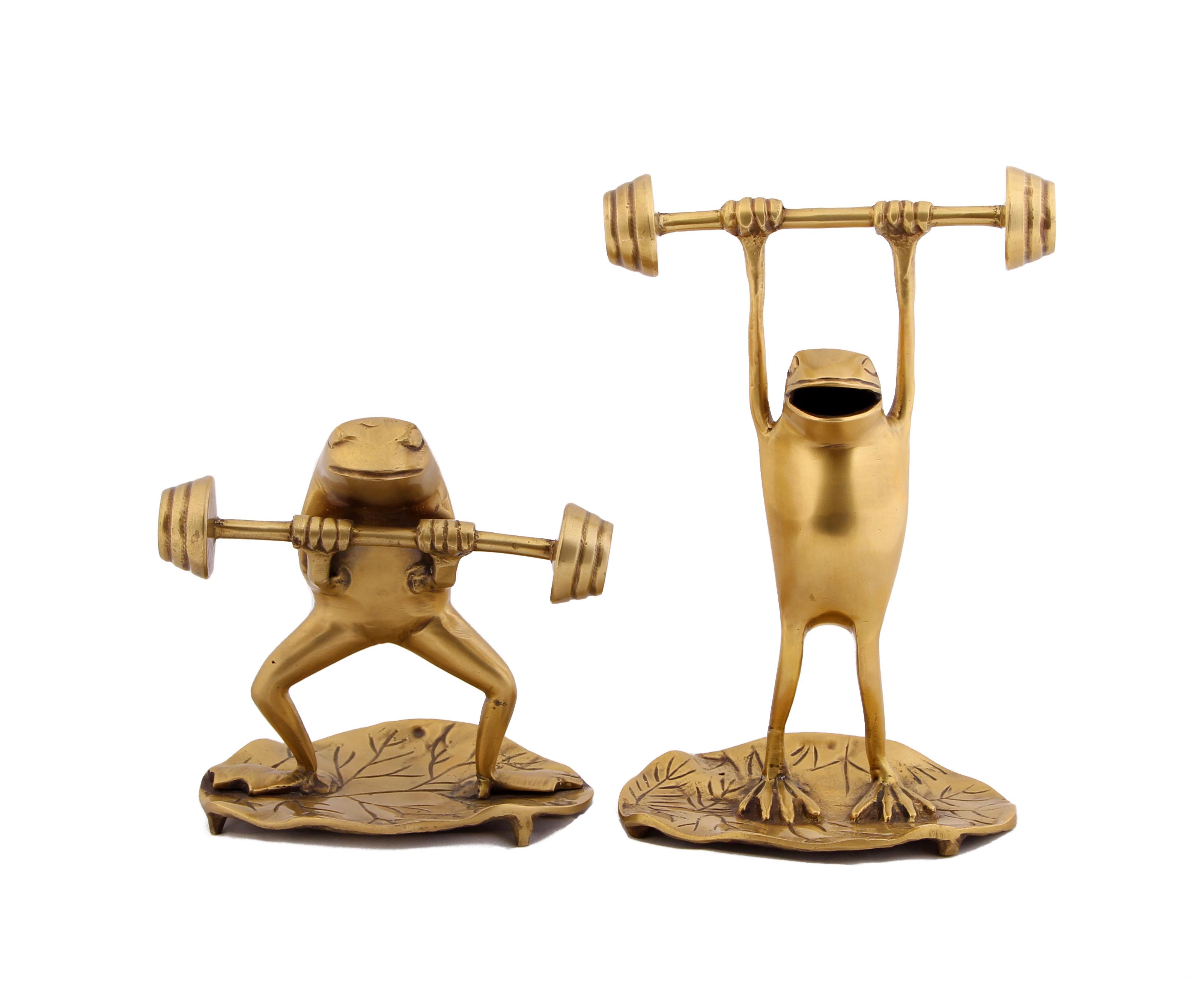 Статуэтки и фигурки Ганг Статуэтка Лягушки Атлеты (Набор) статуэтка moda argenti статуэтка st378a