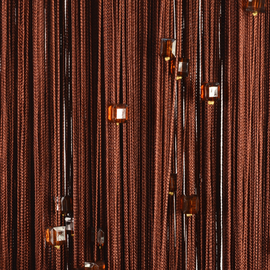 Нитяные шторы Adelaide Цвет: Шоколадный