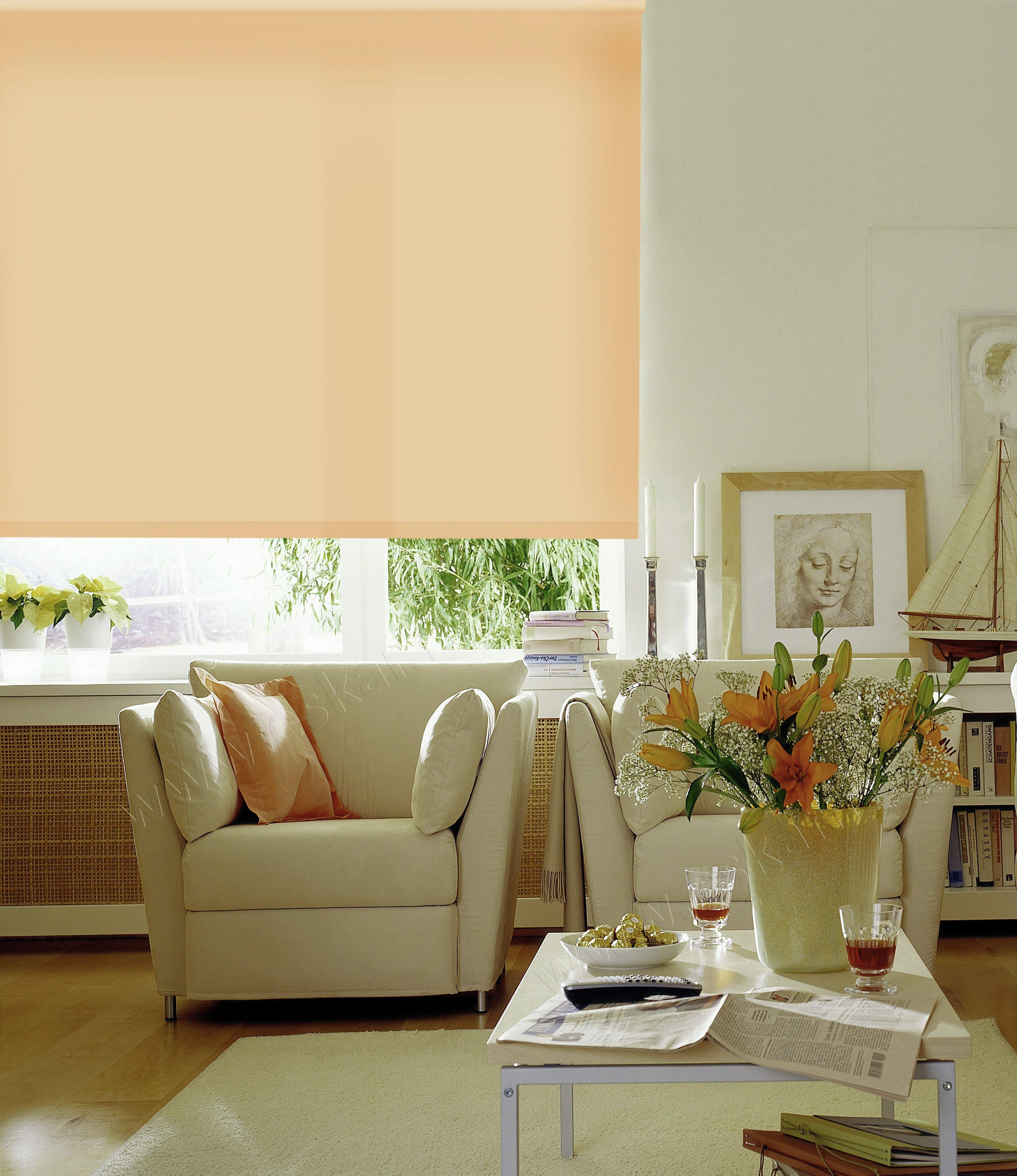 Рулонные шторы Prue Цвет: Светлый Абрикос