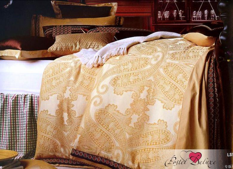 Купить Комплекты постельного белья Tango, Постельное белье Merrick (King size (Евро макси)), Китай, Белый, Оранжевый, Хлопковый сатин