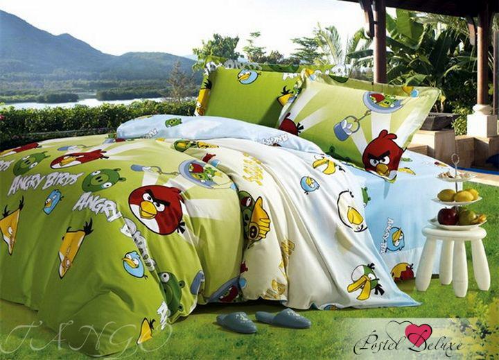 Комплекты постельного белья Tango Постельное белье Angry Birds (2 сп. евро) постельное белье angry birds комплект постельного белья 1 5 бязь плохие свинки