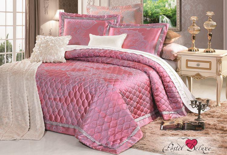 Купить Пледы и покрывала Tango, Покрывало Arryn (240х260 см), Китай, Розовый, Хлопковый жаккард