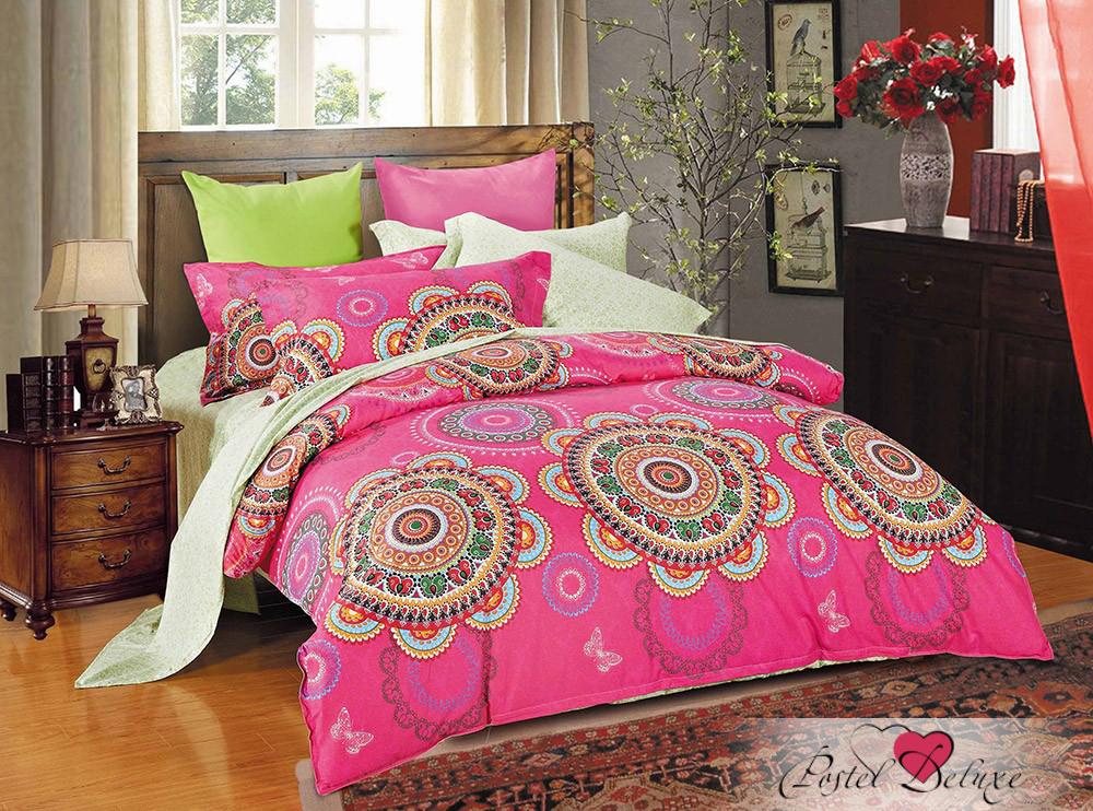 Купить Комплекты постельного белья Tango, Постельное белье Lynet(семейное), Китай, Розовый, Хлопковый сатин