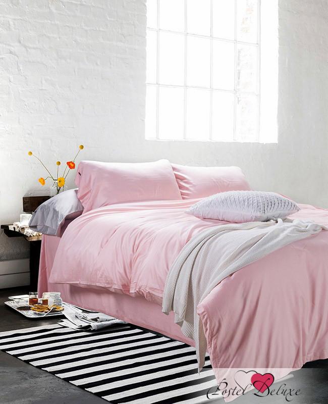 Купить Комплекты постельного белья Tango, Постельное белье Cori Цвет: Бледно-Розовый (2 сп. евро), Китай, Хлопковый сатин