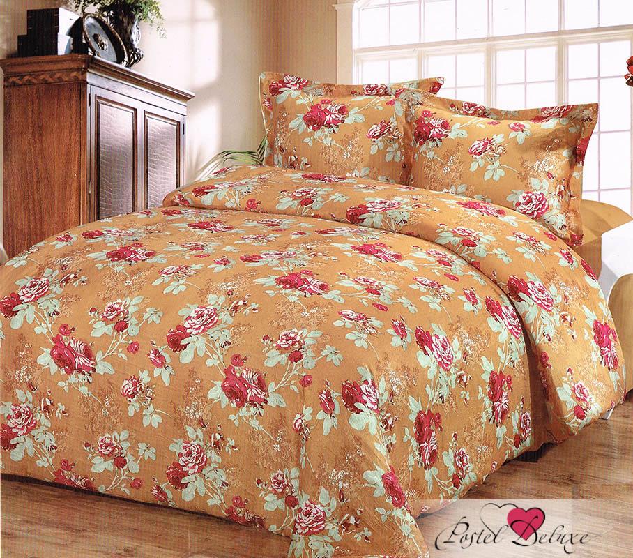 Купить Комплекты постельного белья Tango, Постельное белье Aldwin (2 сп. евро), Китай, Оранжевый, Атласный шелк