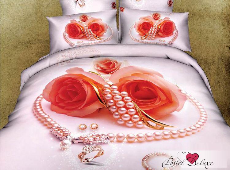 Купить Комплекты постельного белья Tango, Постельное белье Jennifer (семейное), Китай, Розовый, Хлопковый сатин